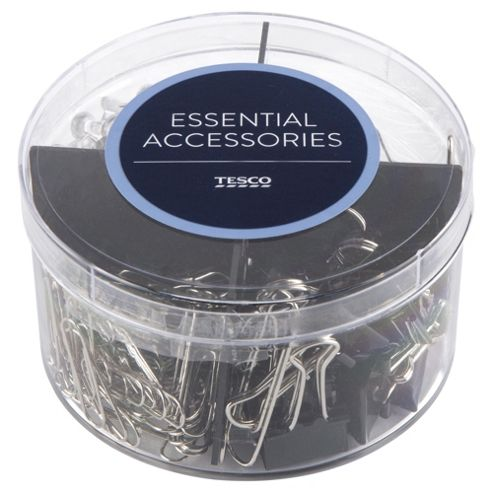 Tesco Clips & Pins Assorted