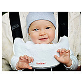 BABYBJORN Bib for Baby Carrier, White, 2-pcs