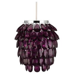 Tesco Lighting Pineapple pendant Fuschia