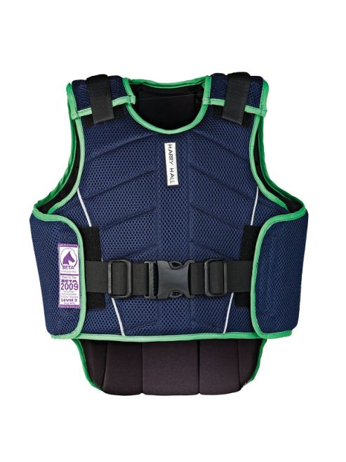Harry Hall Child's Zeus Body Protector Navy S