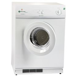 White Knight ECO43A Vented Gas Dryer, 7 kg Load, A Energy Rating, White