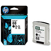 HP 88 Vivera Printer Ink Cartridge - Black (C9385AE)