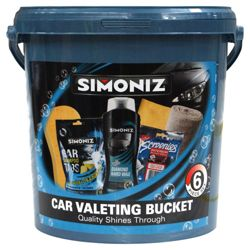Simoniz 6 piece car valet set