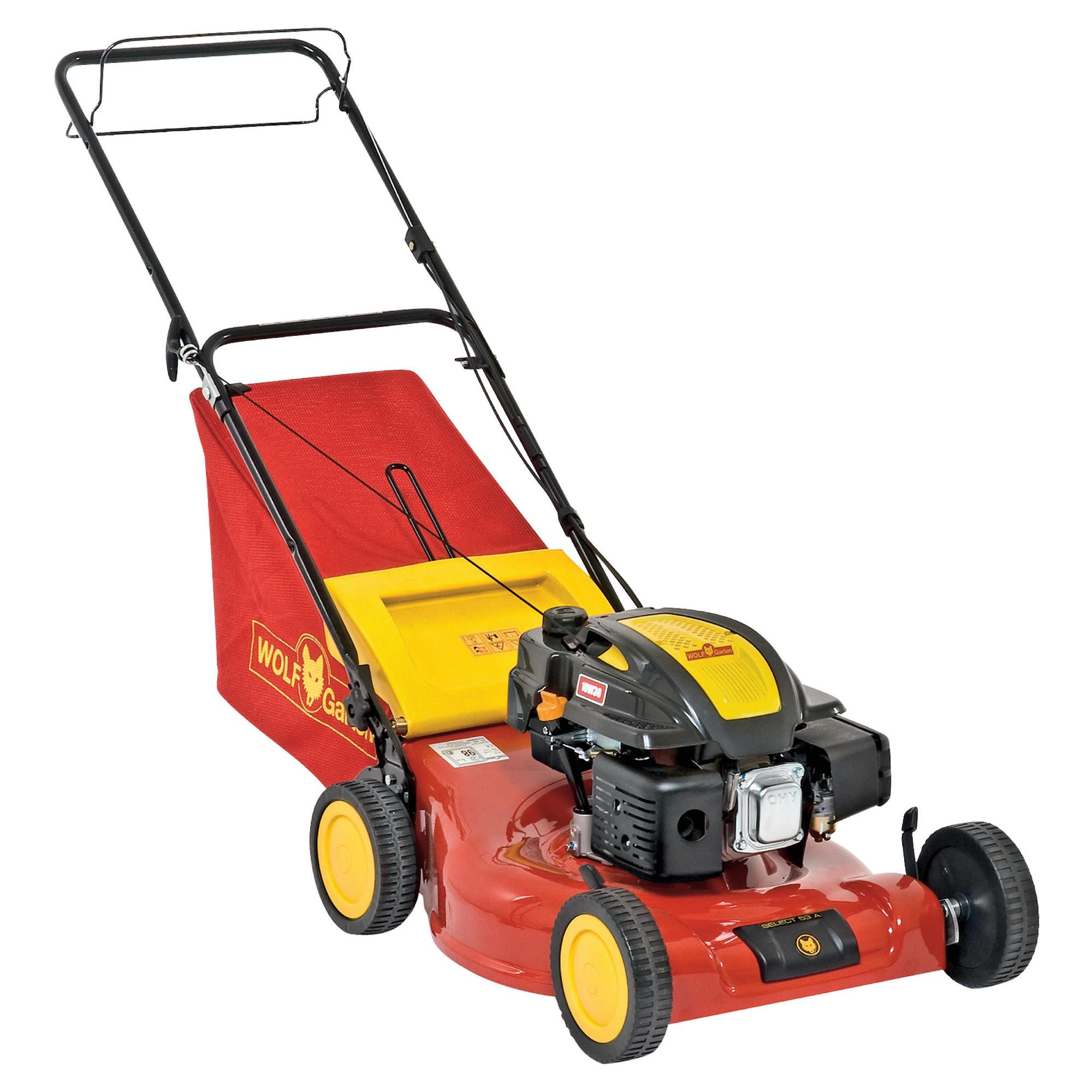 Wolf Select Petrol Lawnmower S5300A at Tesco Direct