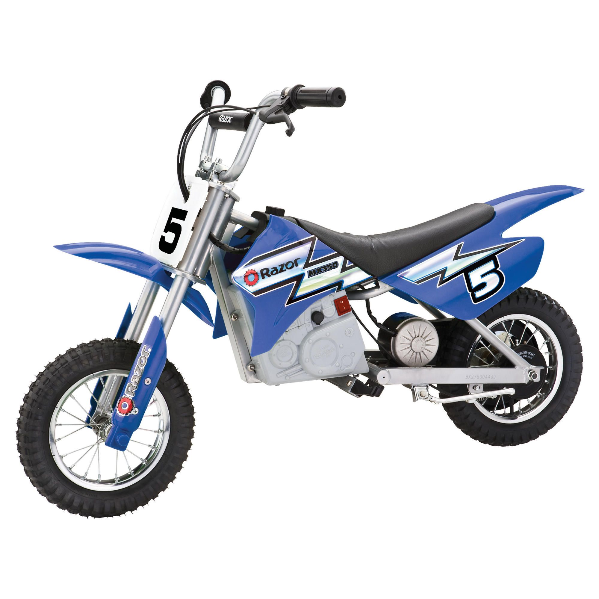 Razor MX 350 Electric Ride-On - Blue at Tesco Direct