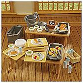 Sylvanian Families School Dinners Set