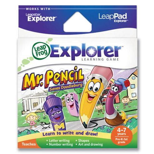 Leapfrog LeapsterLeapPad Explorer Mr Pencil Game