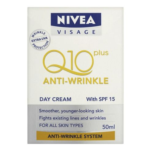 Nivea Visage Anti Wrinkle Q10 Plus Day Cream 50ml