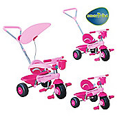 Bonbon Smart Ride-On Trike, Pink/Dark Pink