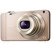 Sony DSCWX10 Cyber-shot Digital Still Camera - Champagne (16.2MP, 7x Optical Zoom) 2.8 inch LCD
