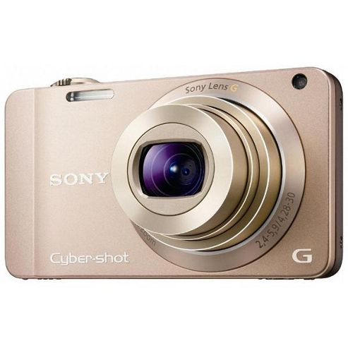Sony DSCWX10 Cyber-shot Digital Camera ChaMPagne 16.2MP 7x Optical Zoom 2.8