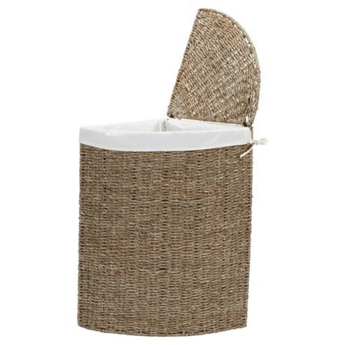 Buy Tesco Seagrass Corner Laundry Basket From Our Laundry