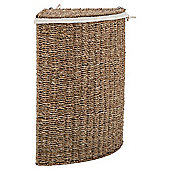 Tesco Natural Seagrass corner Laundry Basket