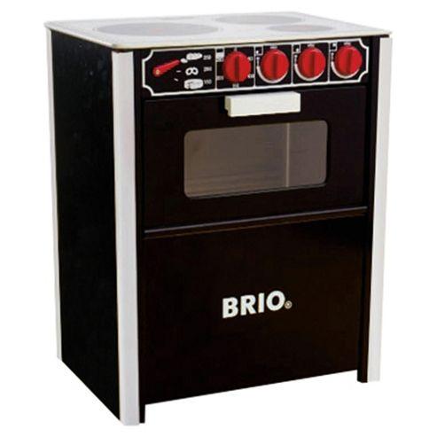 Brio Classic Stove Black, wooden toy