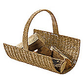 Tesco seagrass log basket