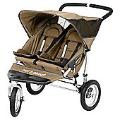 Out 'n' About Nipper Double 360, 3 wheeler Pushchair, Carmel