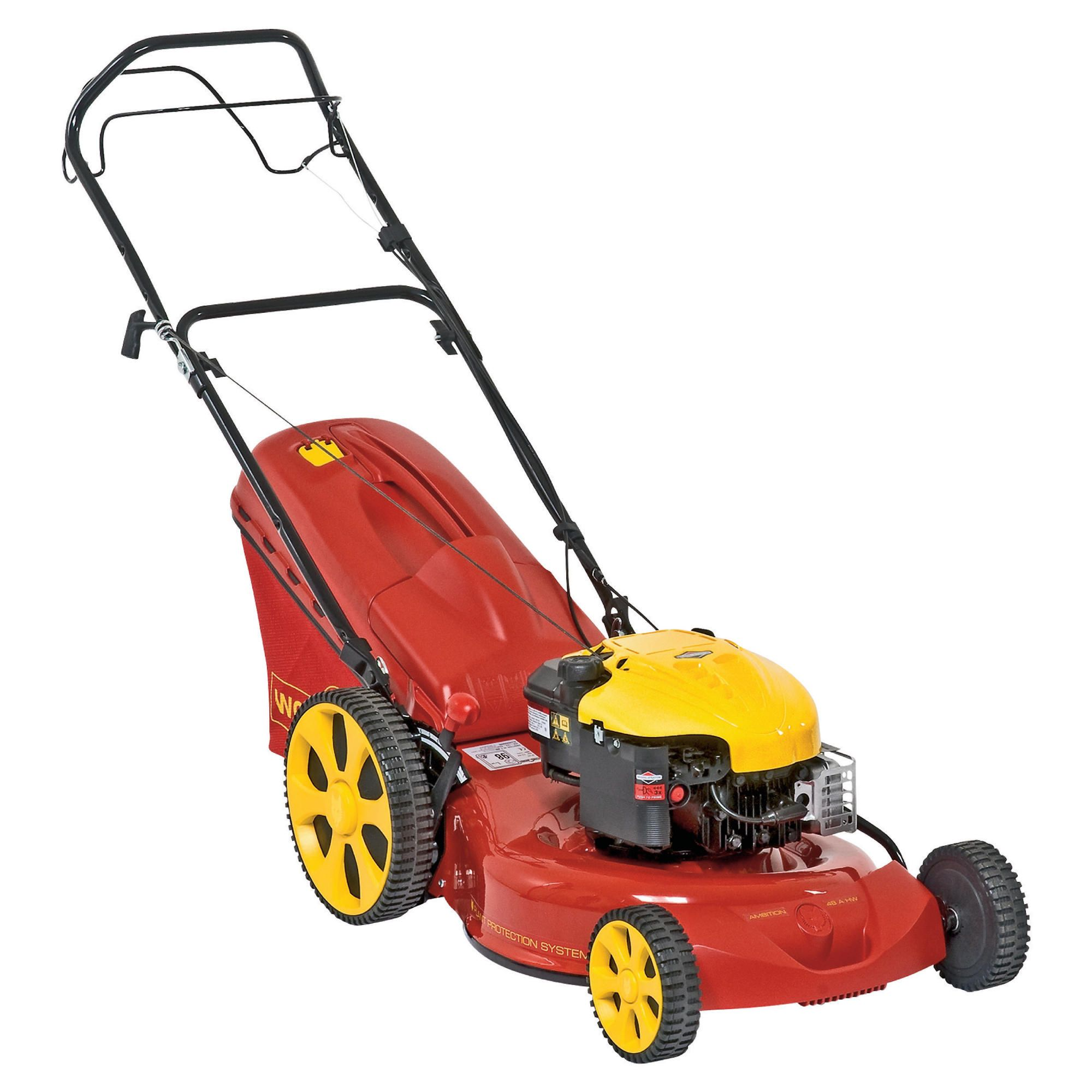 Wolf Ambition A48AHW Self Propelled Petrol Lawnmower at Tesco Direct