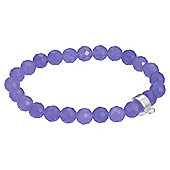 Purple Charm Carrier Bracelet