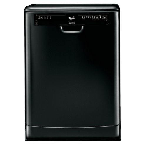 Whirlpool ADP5600 Full Size Dishwasher, A Energy Rating. Black