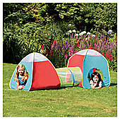 Tesco 3-in-1 Pop-Up Play Tent & Tunnel Set