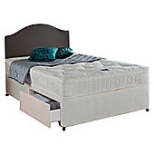 Airsprung Danbury Memory Cushion Top King Size 2 Drawer Divan Bed