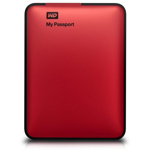 Western Digital 5000ARD My Passport Essential 500GB Hard Drive (Real Red)