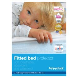 Hippychick Fitted bed protector cot