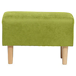 Tub Footstool L/Effect Lime