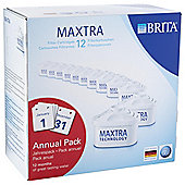 BRITA Maxtra Water Filter Cartridges, 12-Pack