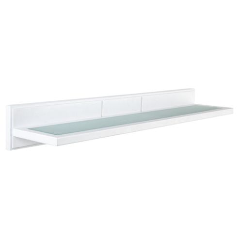 Croydex Glass Shelf White