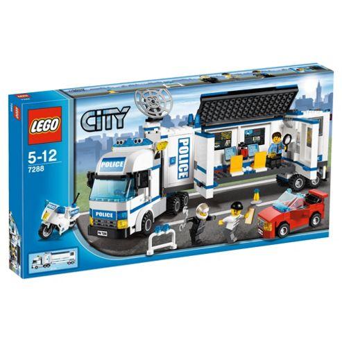 LEGO City Mobile Police Unit 7288