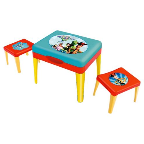 Disney Toy Story Sand & Water Table with Two Stools