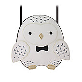 Sleepyville Critters Snowy Owl Crossbody Shoulder Bag 20.3x20.3x3.8cm