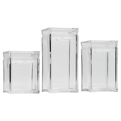 Go Cook 3 piece Acrylic Storage Set
