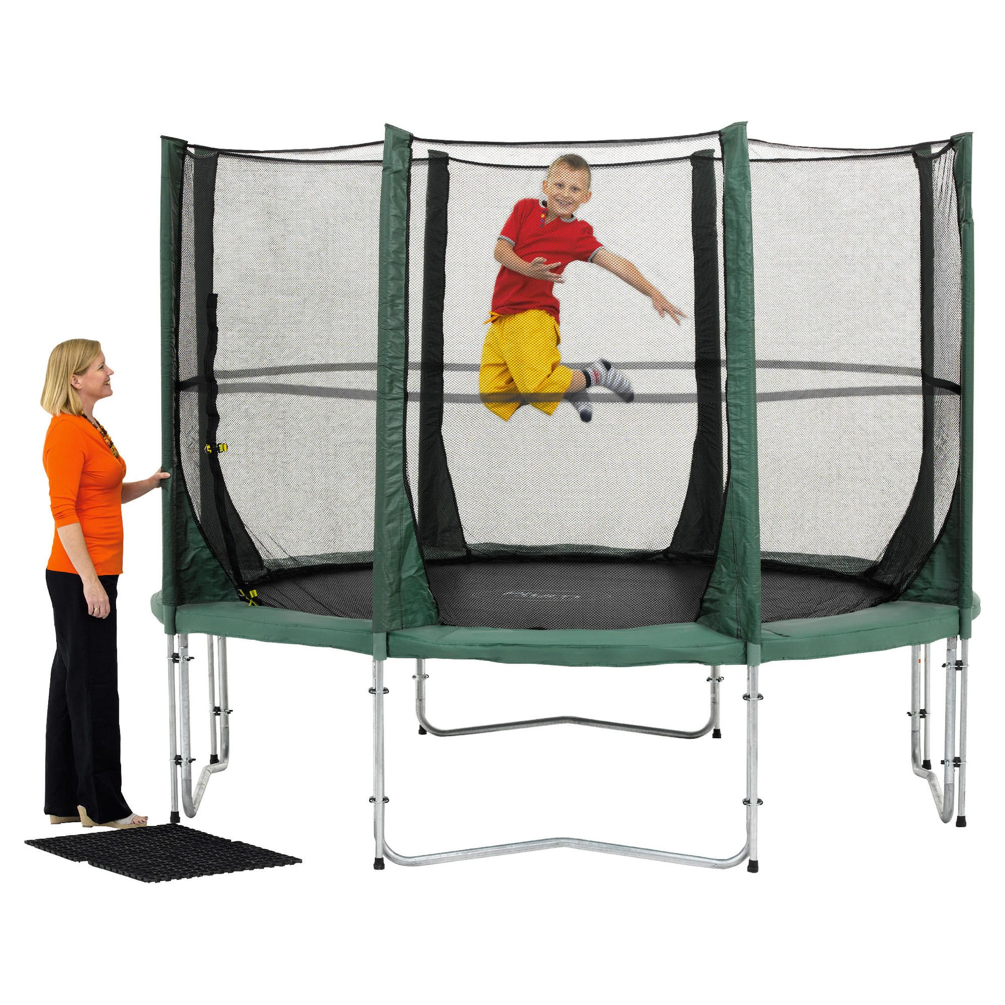 Plum 14ft Trampoline and 3G Enclosure at Tesco Direct