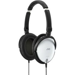 JVC HAS600W High Quality Light Weight Headphones - White