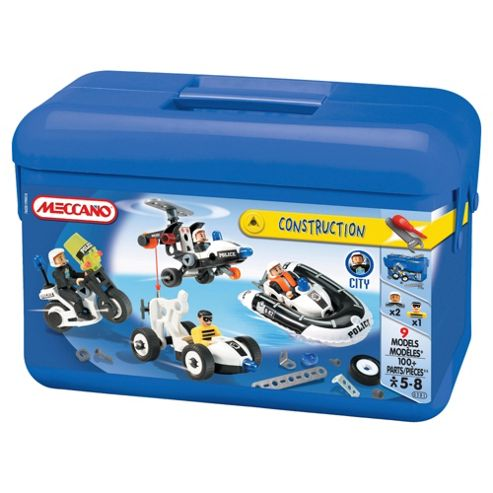Meccano New Police Bucket