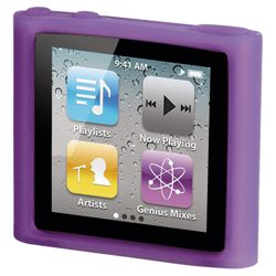 Hama Sport Case Silicon MP3 Case Set for iPod nano 6G