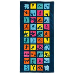 Olympics Pictogram Beach Towel