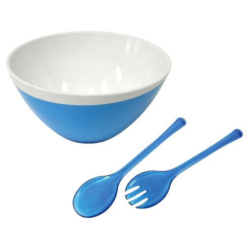 Omada Zen Large Bowl and Servers, Blue