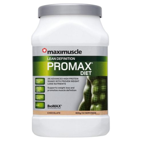 Maximuscle Promax Diet chocolate 600g