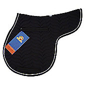 Cottage craft Apollo GP Numnah Black Cob