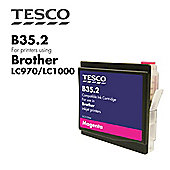 Tesco LC1000 Magenta Printer Ink Cartridge (for Brother LC-1000)