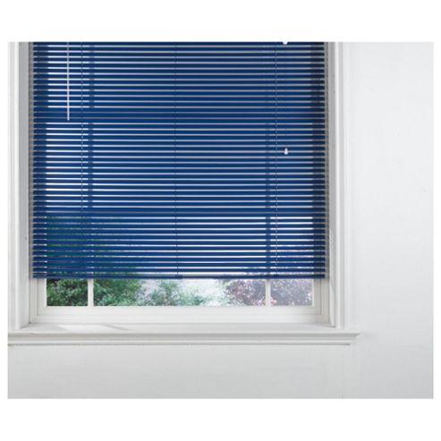 Blue Venetian Blind 180cm