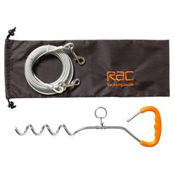 RAC  Tie Out Stake and Cable