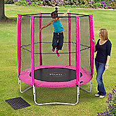 Plum 6ft Trampoline and Enclosure, Pink