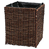 Willow planter 40x40x50cm