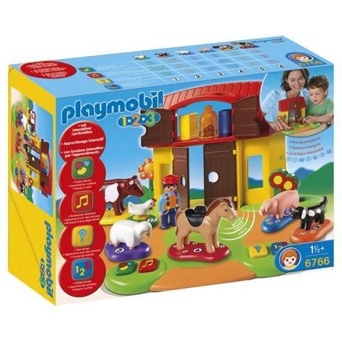 Playmobil 6766 123 Interactive Farm