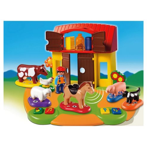 Playmobil 6766 123 Interactive Farm