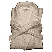 Finest towelling robe Taupe L/XL